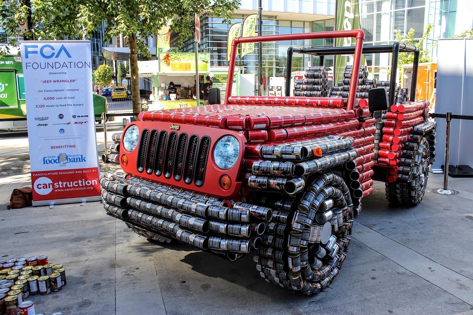 food cans made jeep wrangler looks like tin man 39 s ride we applaud the idea autoevolution. Black Bedroom Furniture Sets. Home Design Ideas