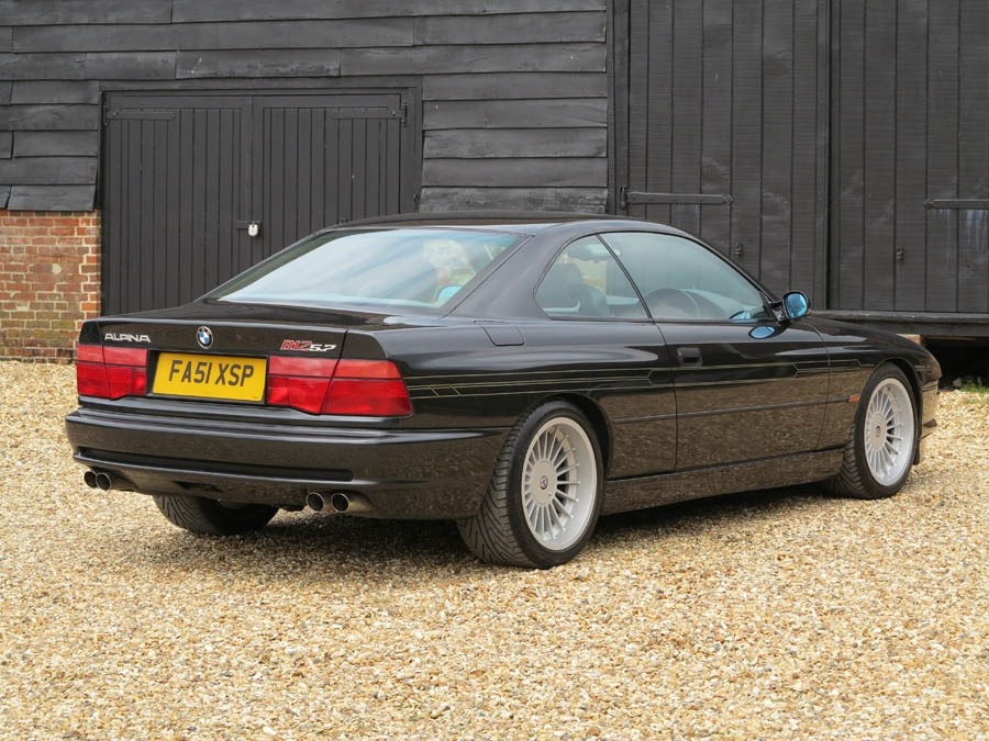 For Sale One of Only Two RHD Alpina B12 Coupe Models with a