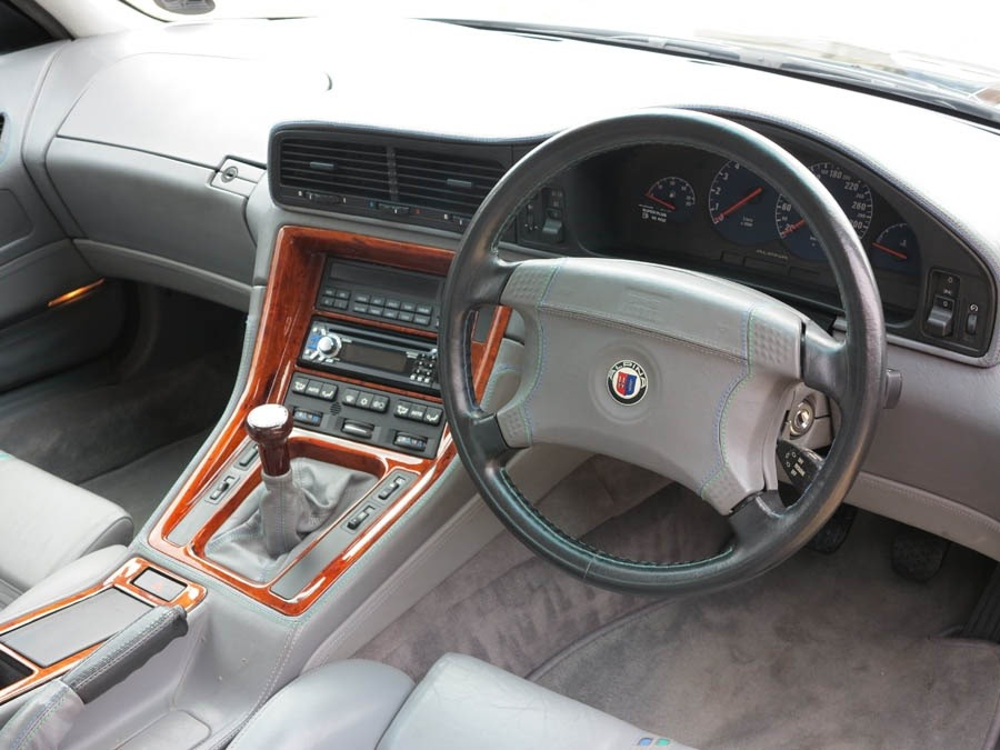 For sale: one of only two rhd alpina b12 coupe models with a.