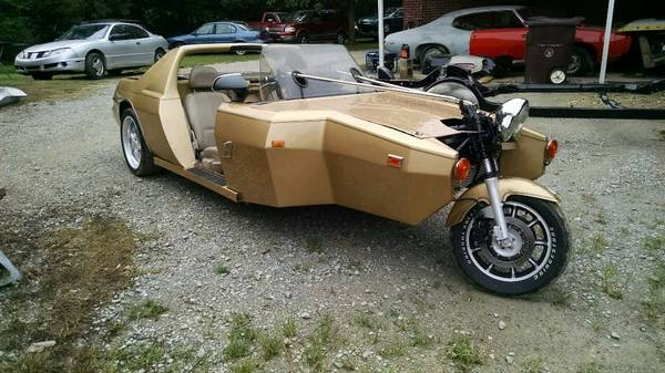 For Sale: Pontiac Fiero with Honda Goldwing Front End ...
