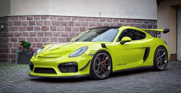 Forbidden Porsche Cayman Gt4 Rs Rendered By Cayman Gt4 Owner Looks