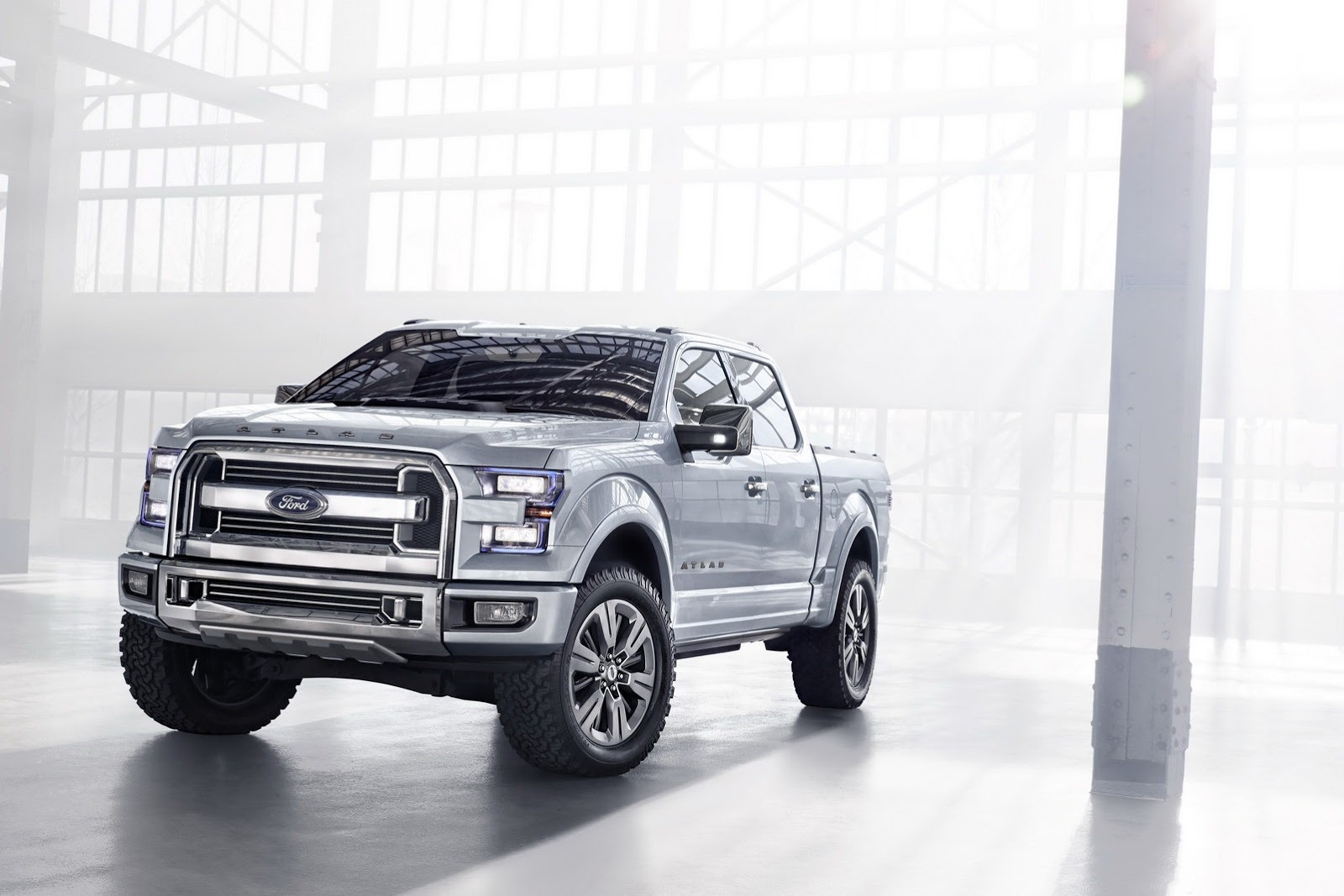 Ford Atlas Concept Unveiled, Previews Next F-150 [Photo ...