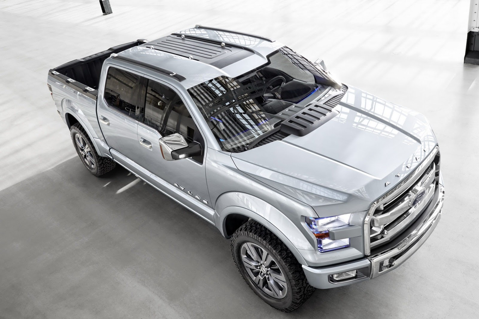 Ford Atlas Concept Unveiled, Previews Next F-150 [Photo ... Ford Concept Trucks Atlas
