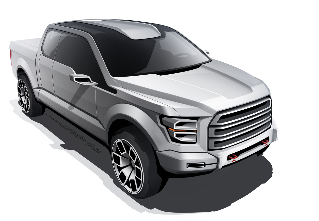 Ford atlas pickup concept development unveiled photo gallery_10 jpg 1280 889 car renderings pinterest sketches and car sketch