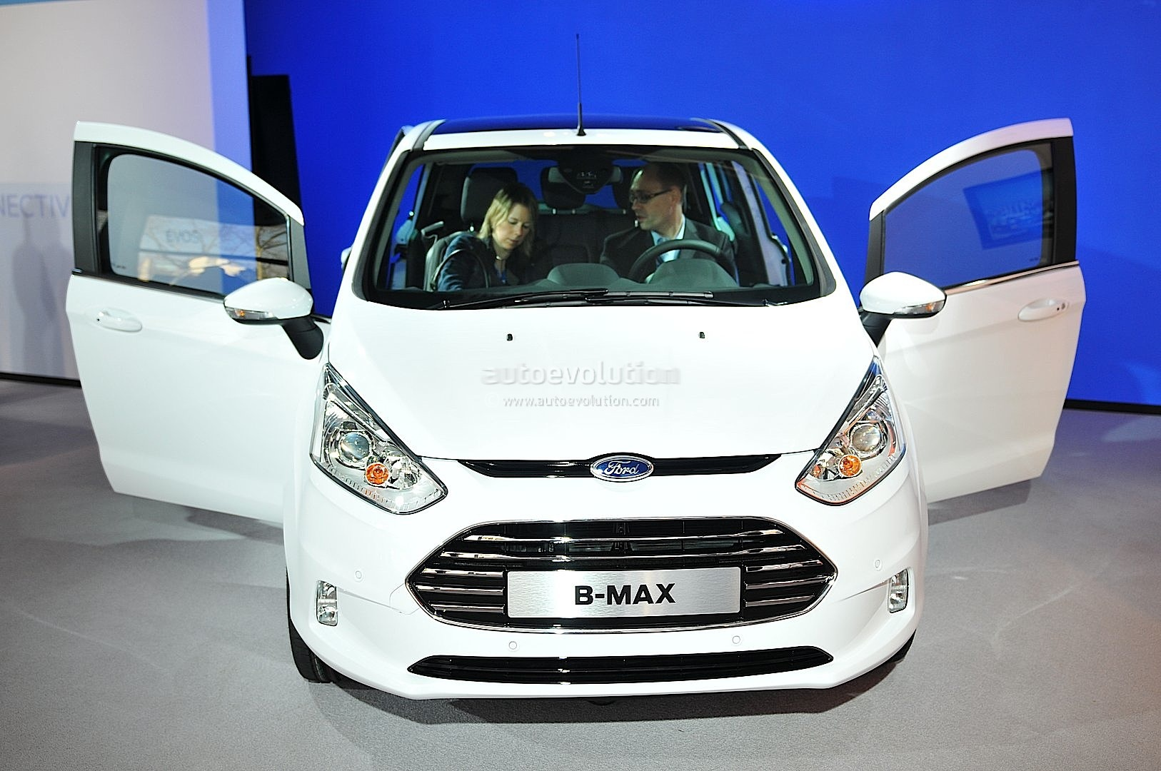 Ford B Max Debuts At 2012 Mobile World Congress Live