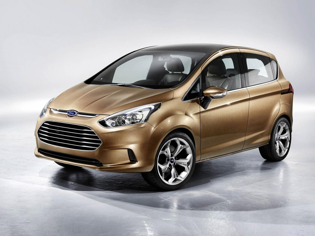 ford b max fiesta with an attitude autoevolution. Black Bedroom Furniture Sets. Home Design Ideas