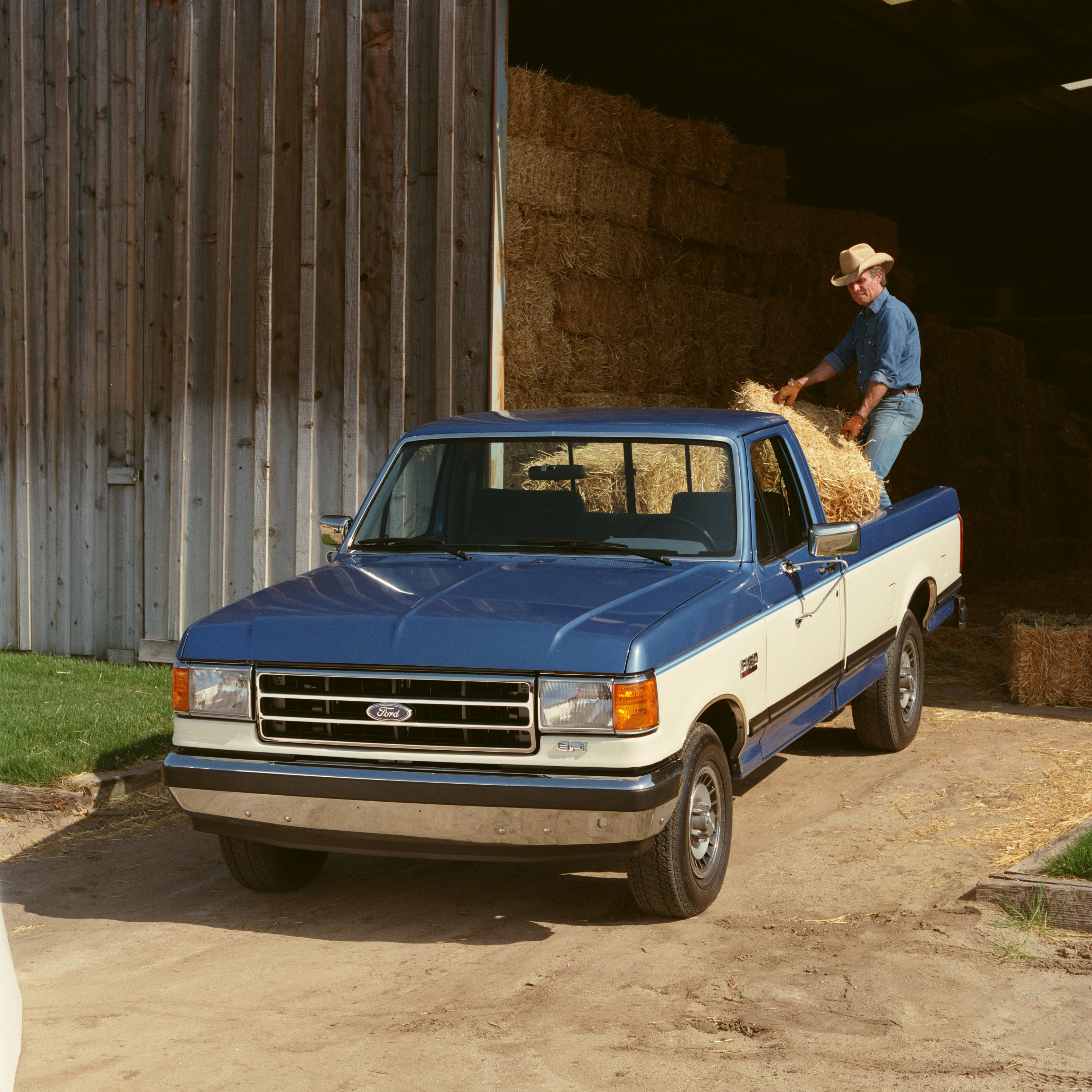 Ford Trucks: Ford Celebrates Labor Day With History And F-150 Stats