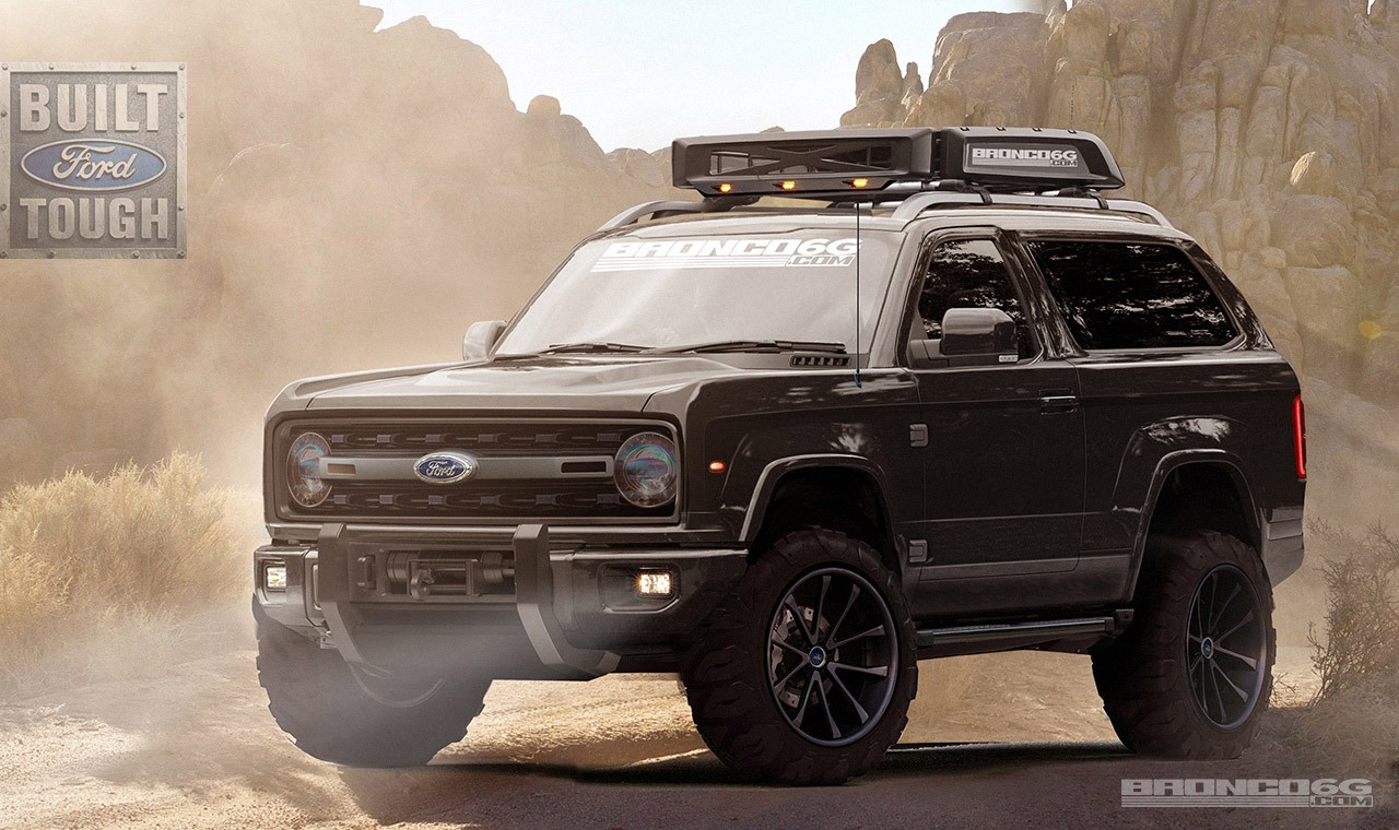 Diesel ford bronco for sale -  2020 Ford Bronco Rendering By Bronco6g