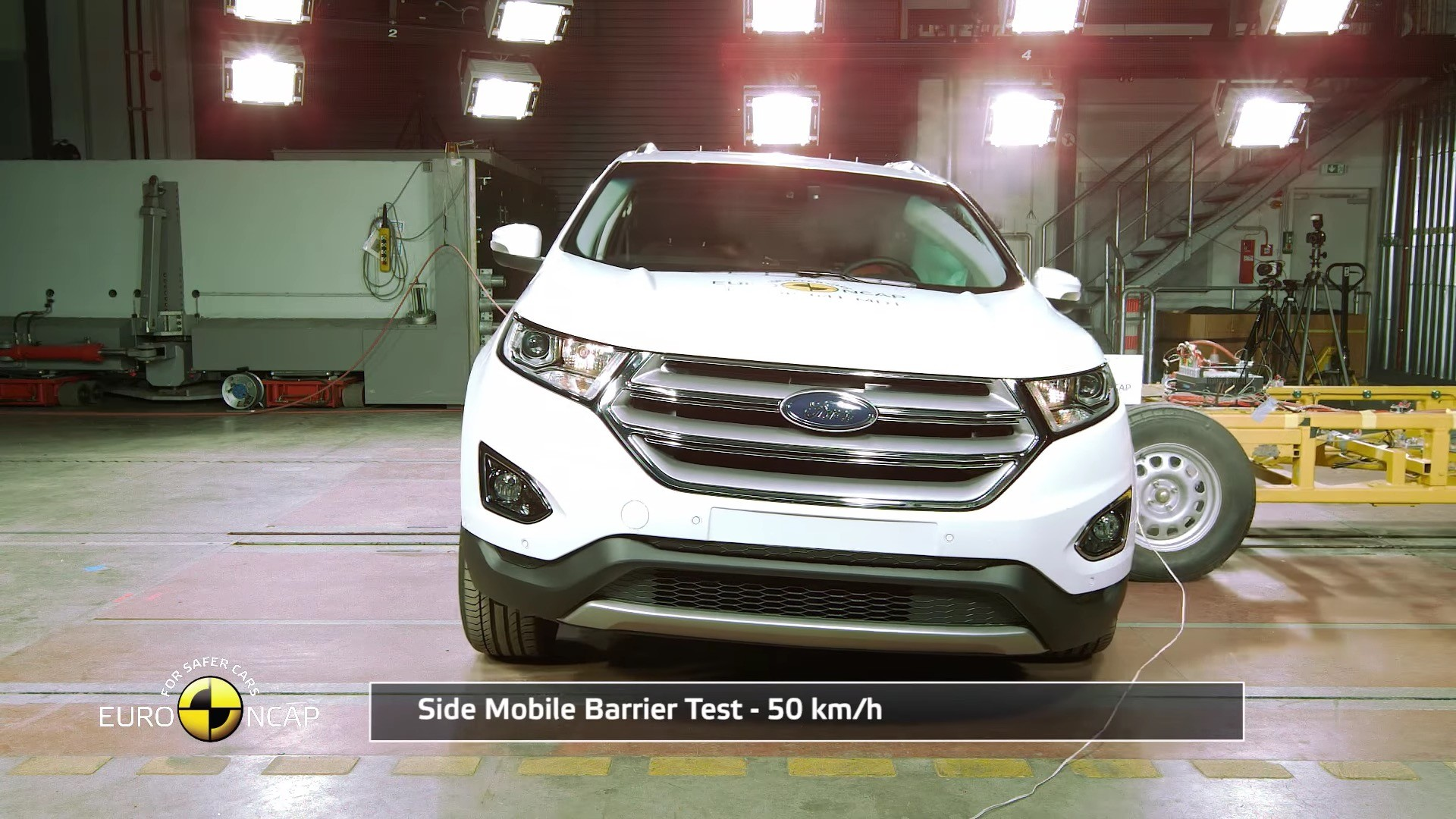 2016 ford edge crash tested by euro ncap awarded 5 stars overall autoevolution. Black Bedroom Furniture Sets. Home Design Ideas