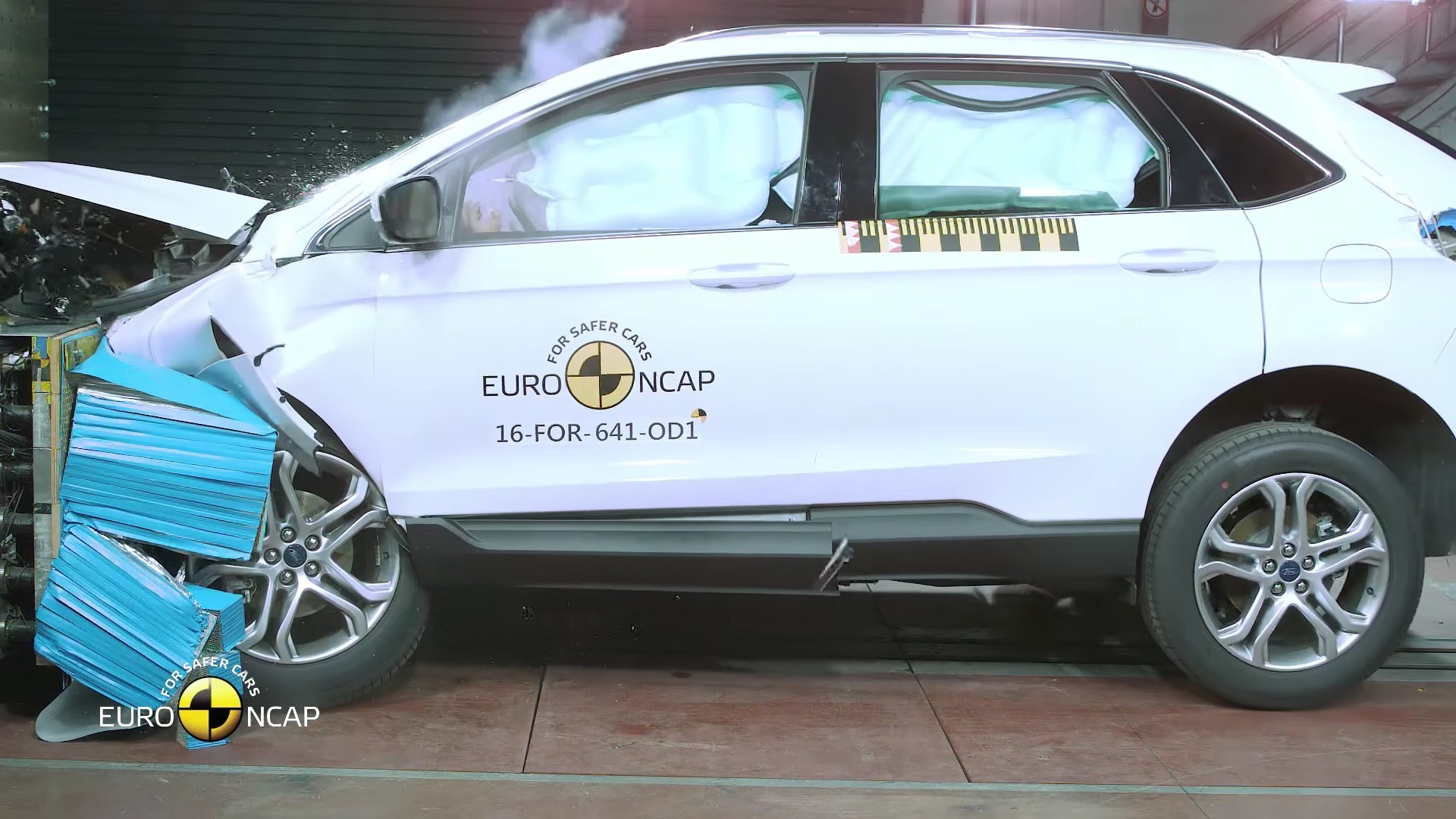 Ford Edge Crash Tested By Euro Ncap