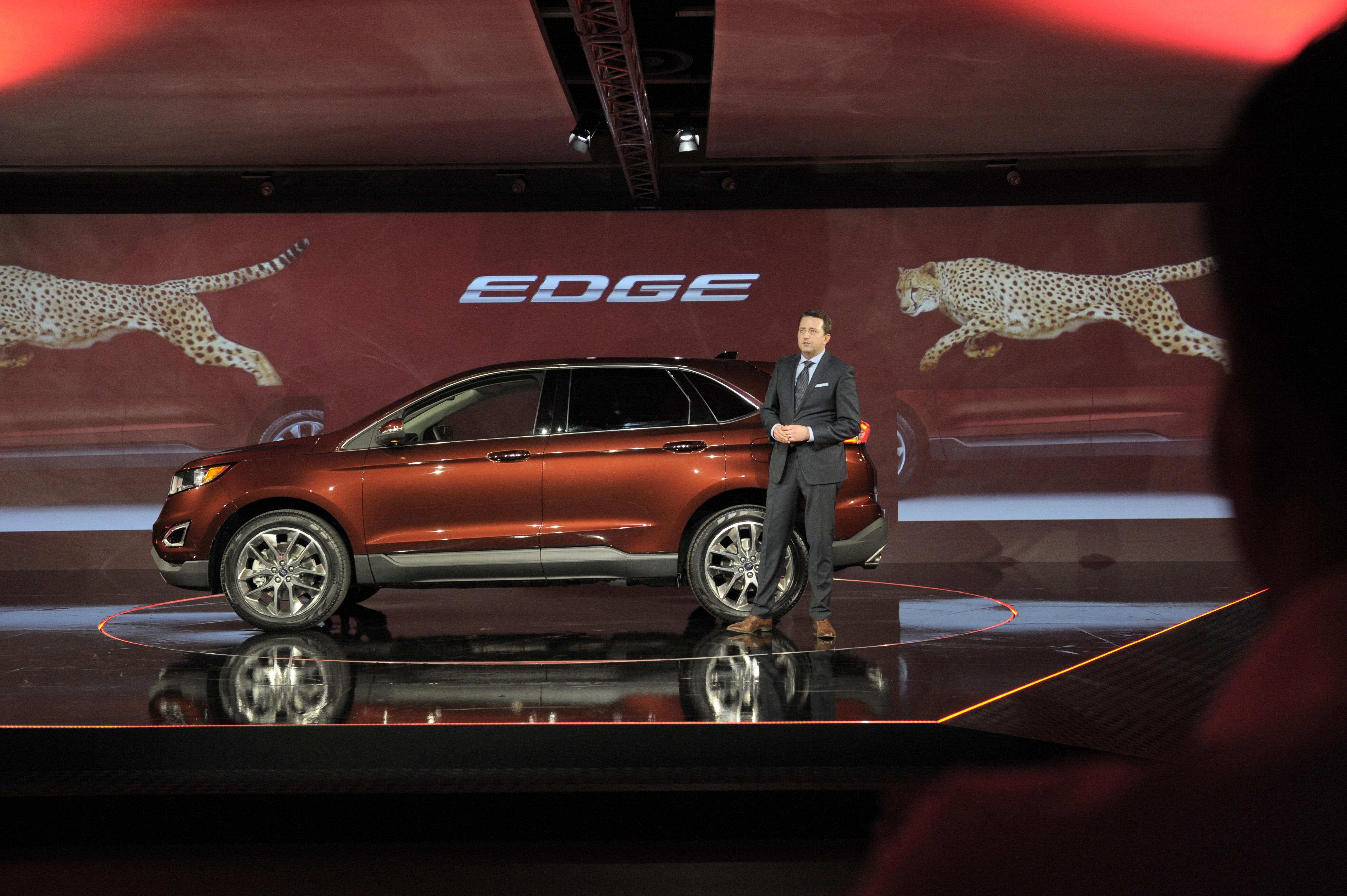 Ford Edge Euro Spec At The Paris Motor Show