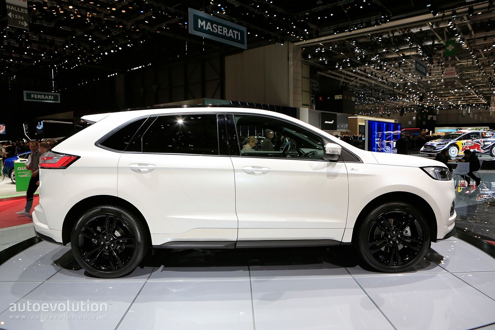 Ford Edge St Line Is Almost Hot With Twin Turbo Diesel