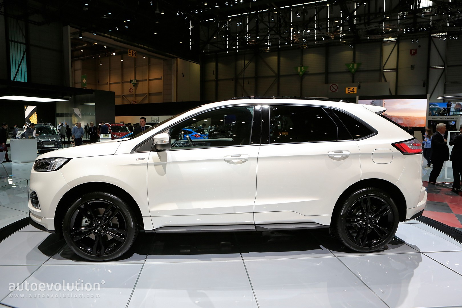 ford edge st line is almost hot with twin turbo diesel engine autoevolution. Black Bedroom Furniture Sets. Home Design Ideas