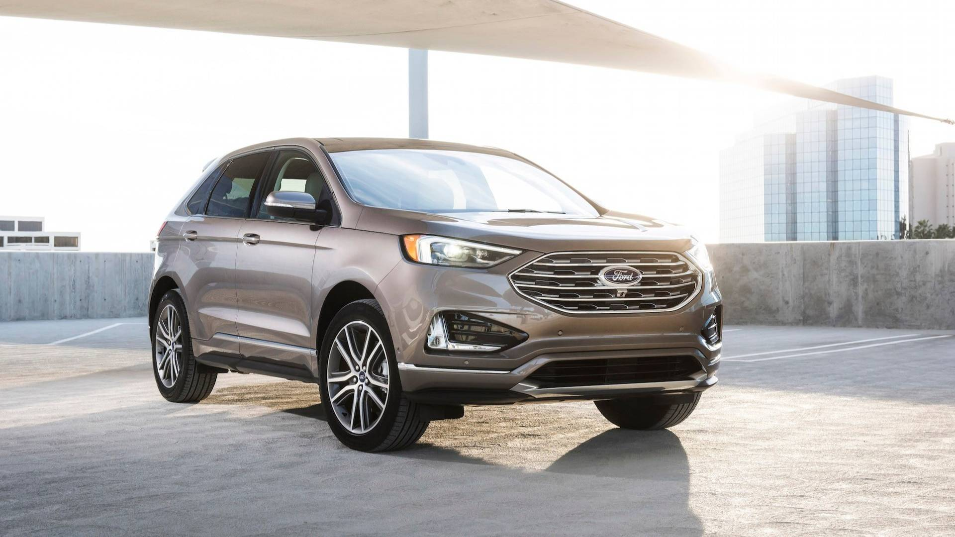2019 Ford Edge Titanium Elite is Nothing But an Appearance Package - autoevolution
