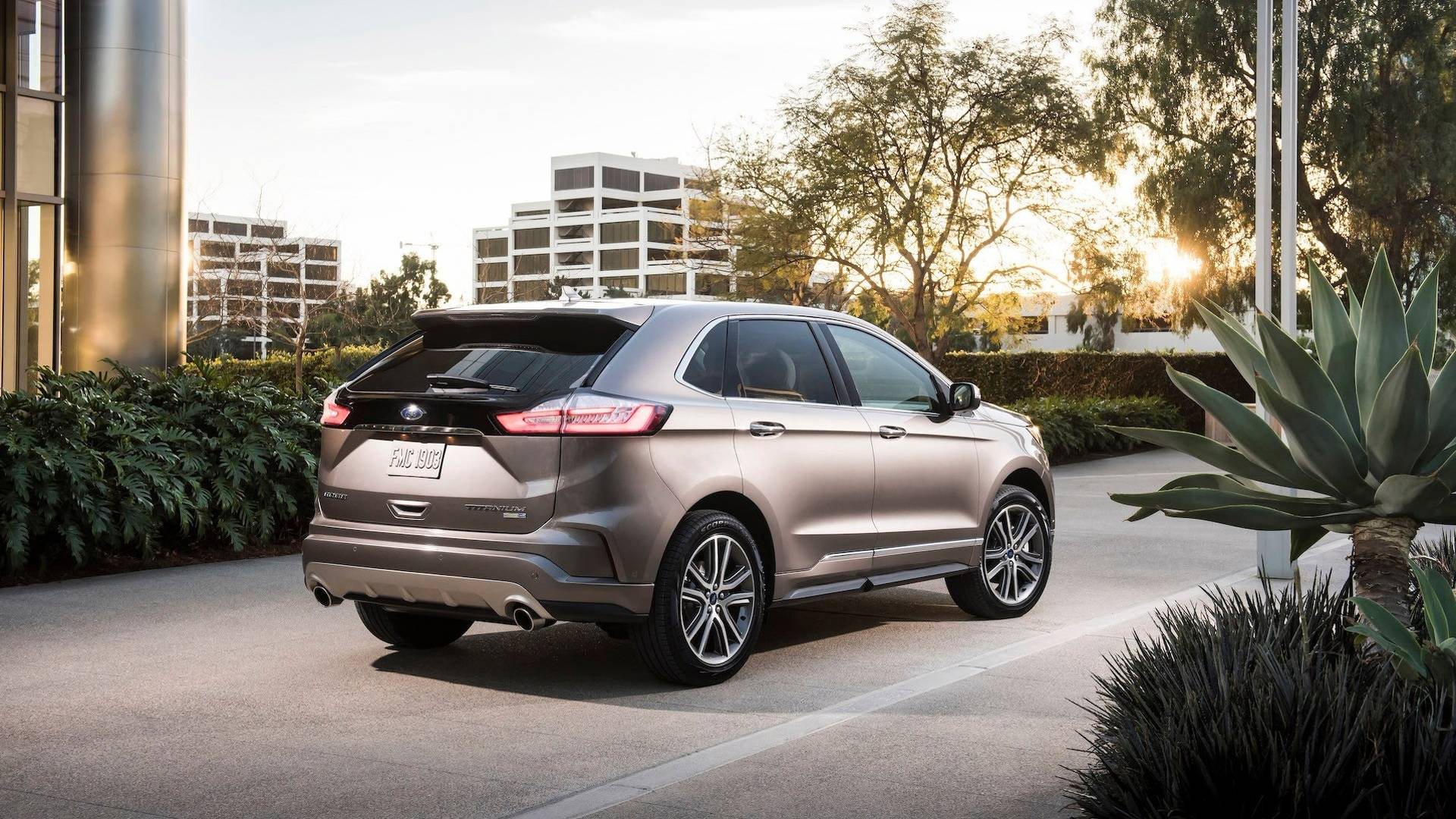 2018 Ford Kuga >> 2019 Ford Edge Titanium Elite is Nothing But an Appearance Package - autoevolution