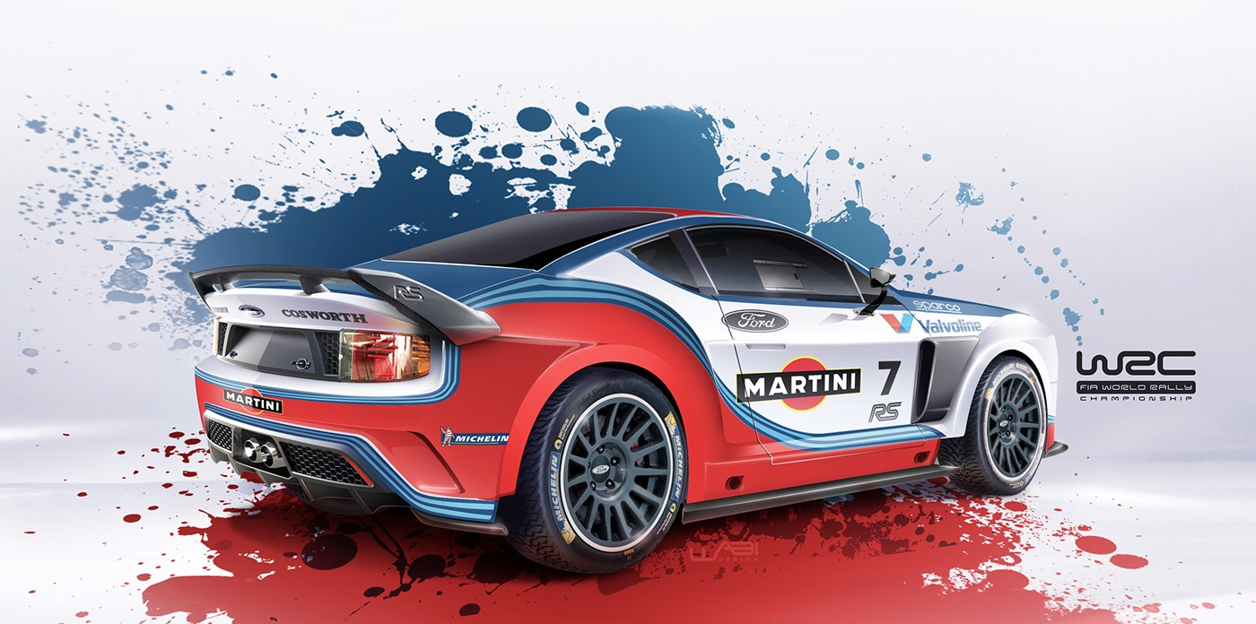 Ford Escort Mk2 Reimagined As Modern WRC Car Complete With Martini ...
