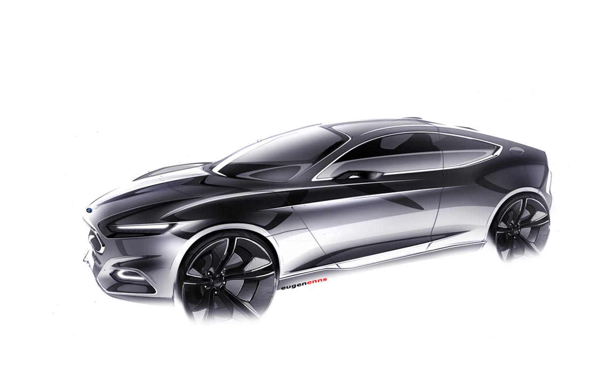 Ford Evos Concept To Introduce Kinetic Design 2 0 In