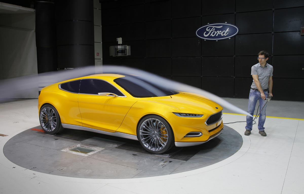 2017 Ford Mustang Ecoboost >> Ford Evos Concept to Introduce Kinetic Design 2.0 in ...