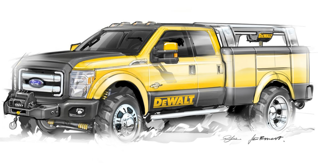 Ford F 150 Goes To The 2009 Sema Show Autoevolution