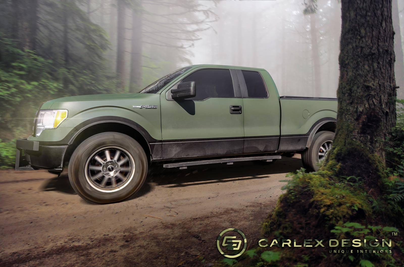 Ford Fiesta Hatchback >> Ford F-150 Hunter Edition by Carlex Design - autoevolution