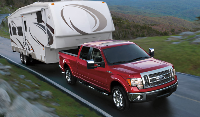 ford f 150 receives motor trend 2009 truck of the year. Black Bedroom Furniture Sets. Home Design Ideas