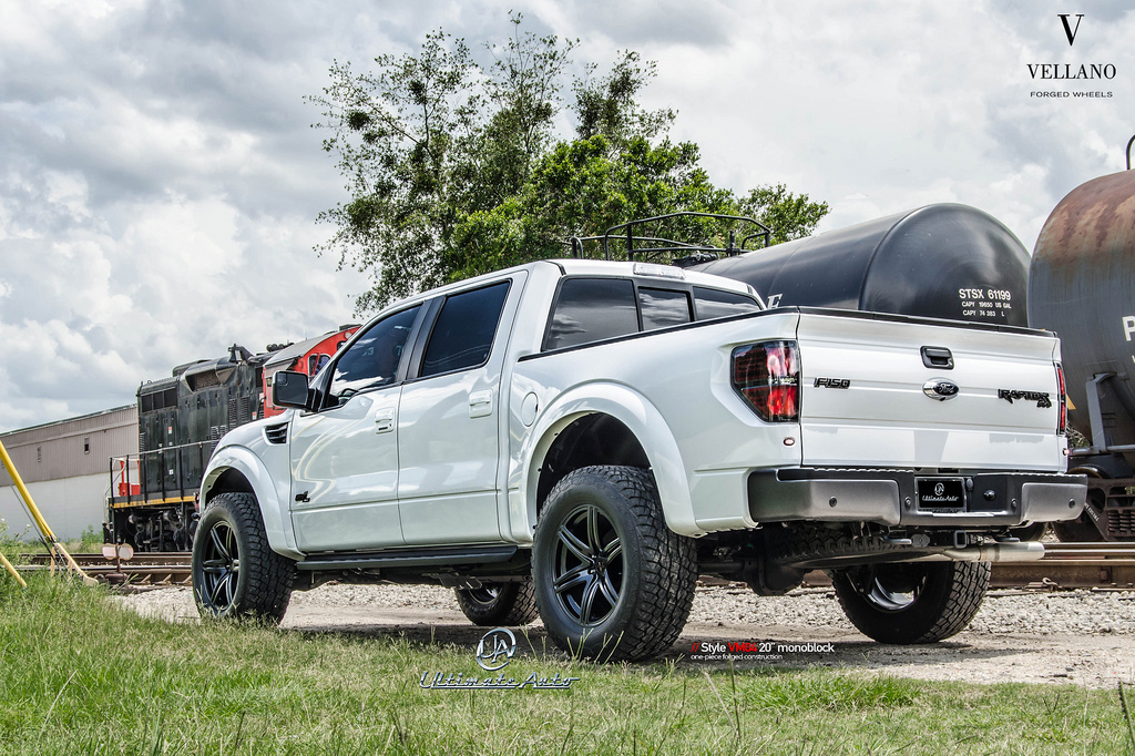 Ford f 150 svt raptor gets vellano wheels