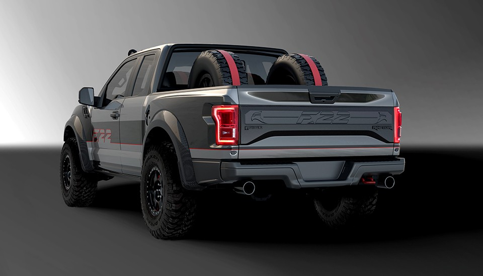 F 22 raptor inspired ford f 150 raptor heading to auction autoevolution