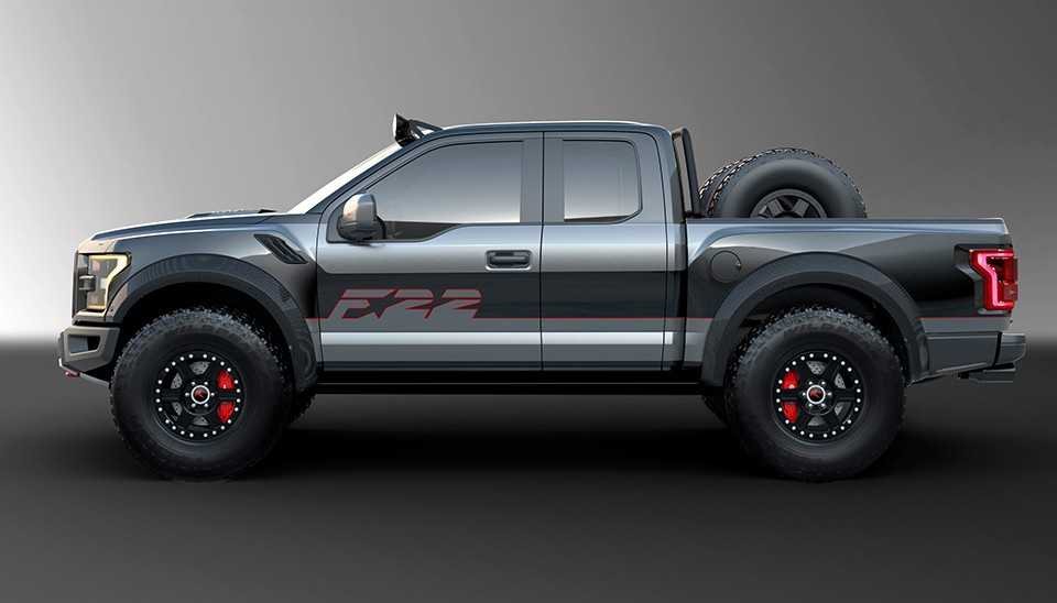 f 22 raptor inspired ford f 150 raptor heading to auction. Cars Review. Best American Auto & Cars Review