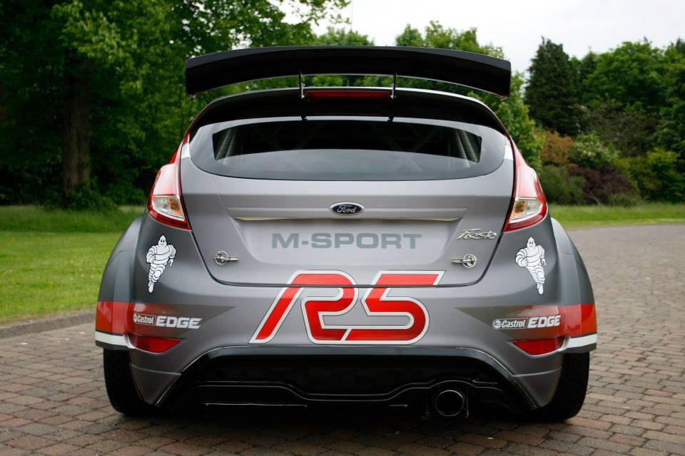 Ford Fiesta R5 Rally Car by M-Sport Revealed - autoevolution