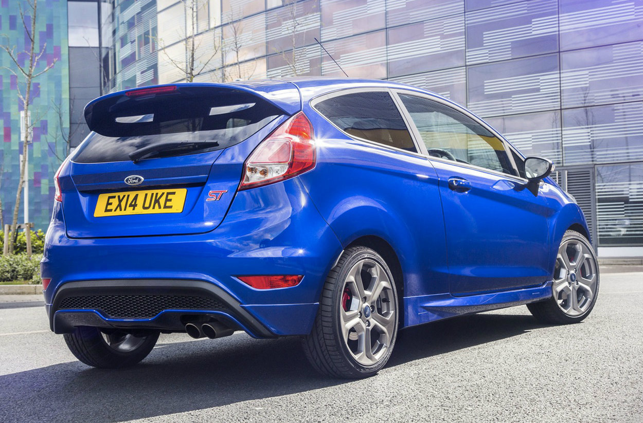 ford fiesta st 3 meet the new boss same as the old boss autoevolution. Black Bedroom Furniture Sets. Home Design Ideas