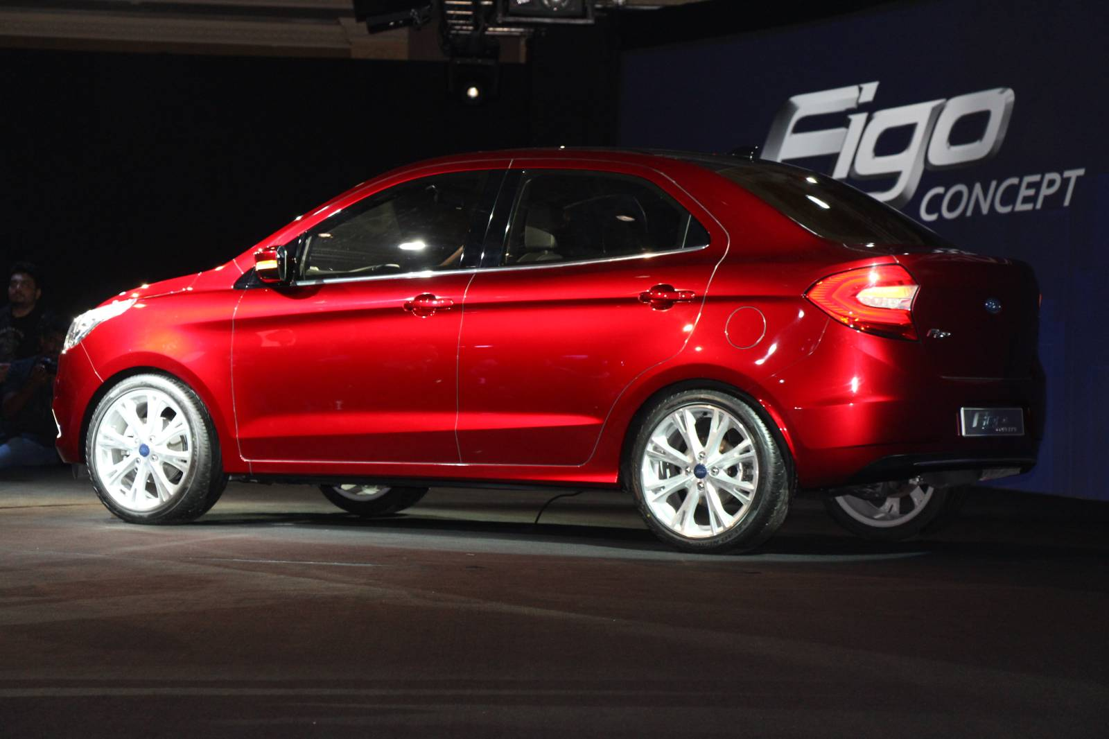 Ford Figo Sedan Concept Is the Ka with a Boot [Live Photos ...