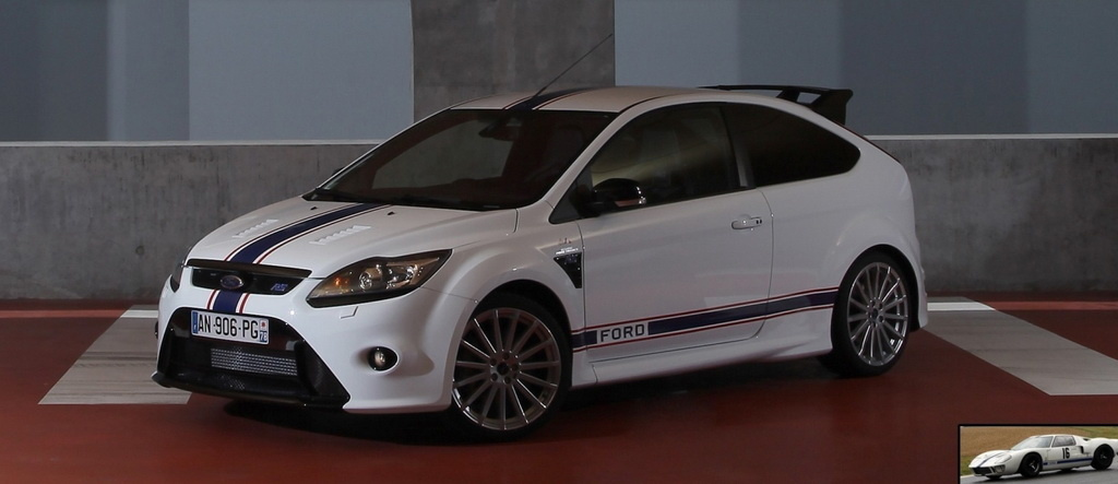 ford focus rs le mans classic editions revealed autoevolution. Black Bedroom Furniture Sets. Home Design Ideas