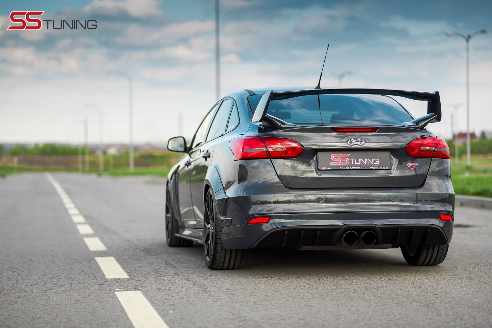 ford focus st sedan by ss tuning