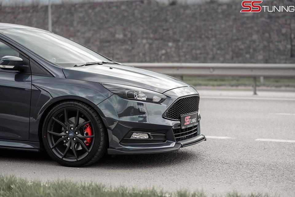 Ford Focus ST Sedan by SS Tuning Has an STI Wing - autoevolution
