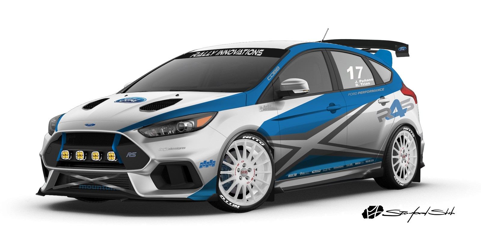 ... Ford Focus RS SEMA project  sc 1 st  Autoevolution & Ford Focus Roof Opened like a Tin Can by Air Freshener Explosion ... markmcfarlin.com