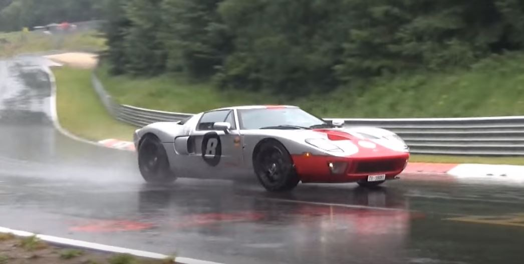 Ford Gt Has Nurburgring Crash Ford Gt Has Nurburgring Crash