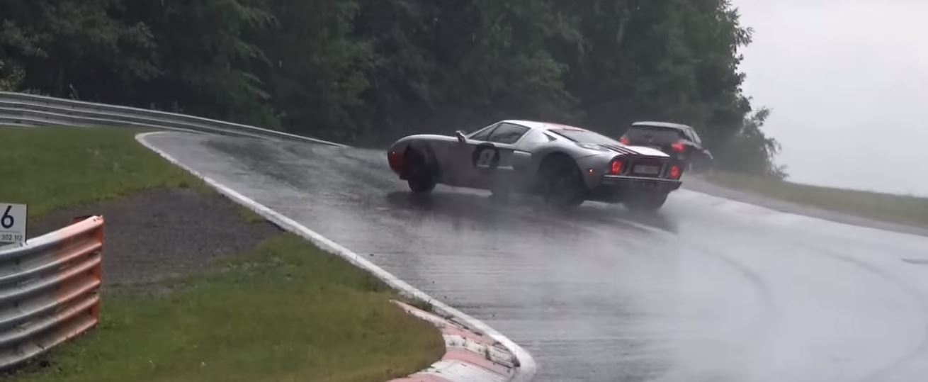 Ford Gt Has Nurburgring Crash In The Wet The Lesson Here