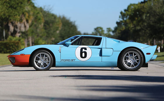 Ford Gt Heritage Edition To Cross The Block In Fort