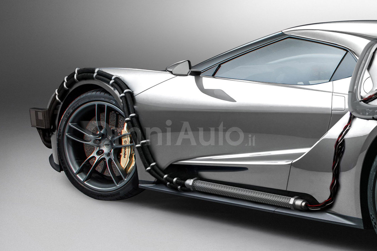 ford gt is turned into a bttf time machine just for the sake of it   autoevolution