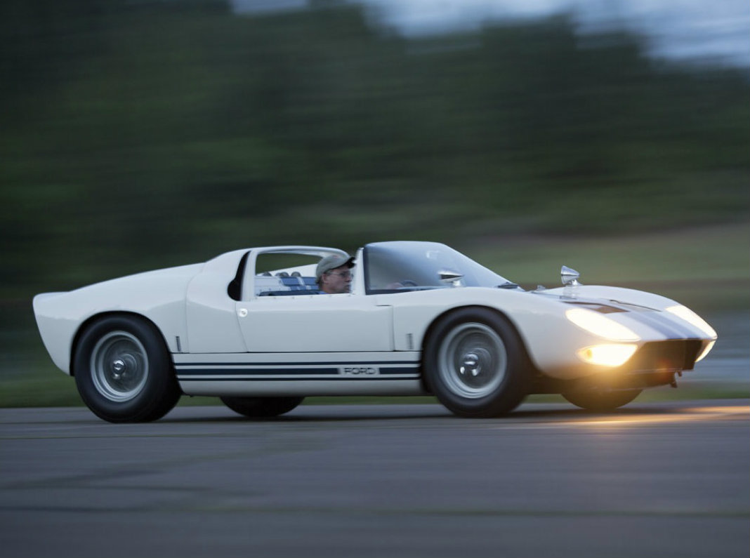Ford Gt40 Roadster Prototype Going Under The Hammer