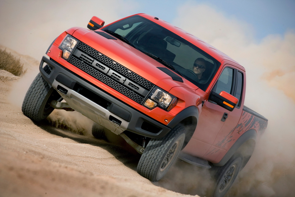 Ford Introduces F-150 SVT Raptor Off-road Truck - autoevolution