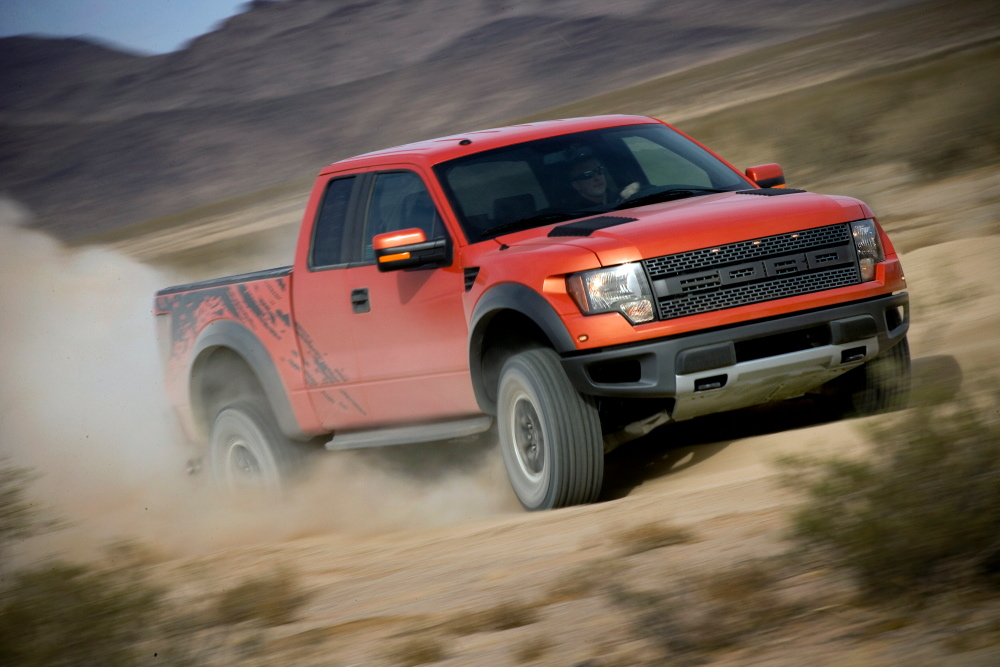 Ford introduces f 150 svt raptor off road truck autoevolution