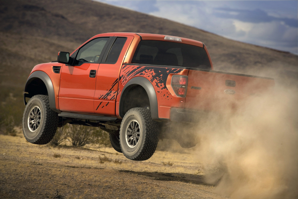 Ford Introduces F-150 SVT Raptor Off-road Truck ...
