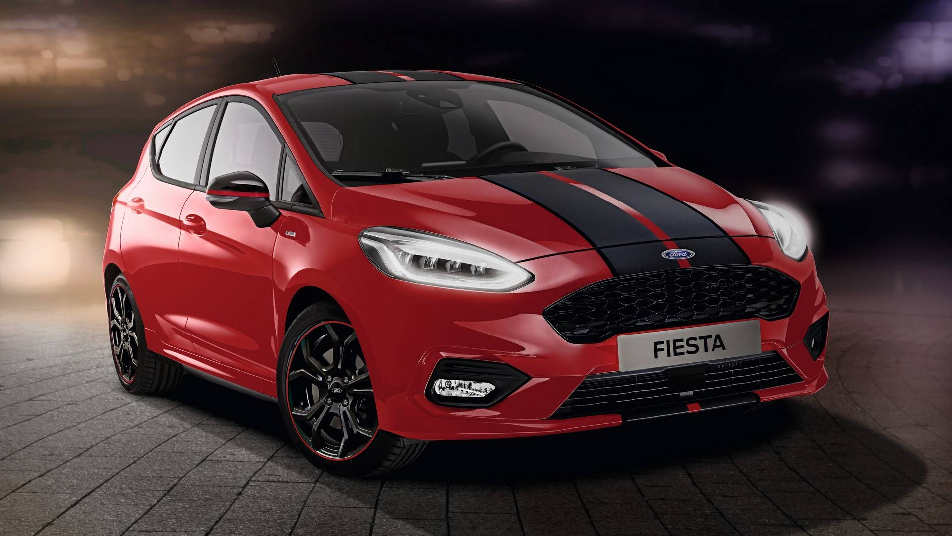 ford launches fiesta st line red edition joined by black edition autoevolution. Black Bedroom Furniture Sets. Home Design Ideas