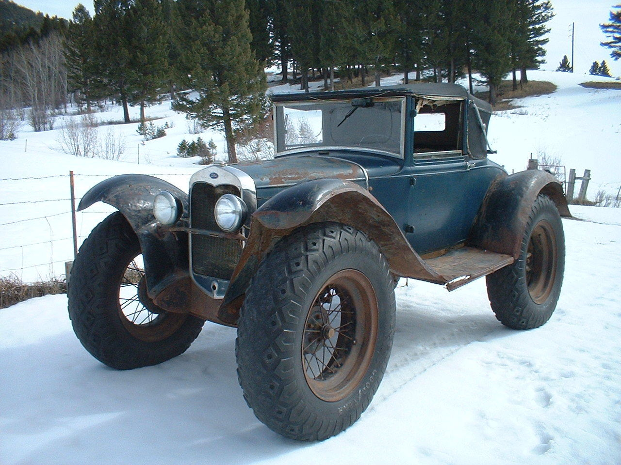 Ford Model A Custom Delivery Car for Sale Can Solve New York Snow ...