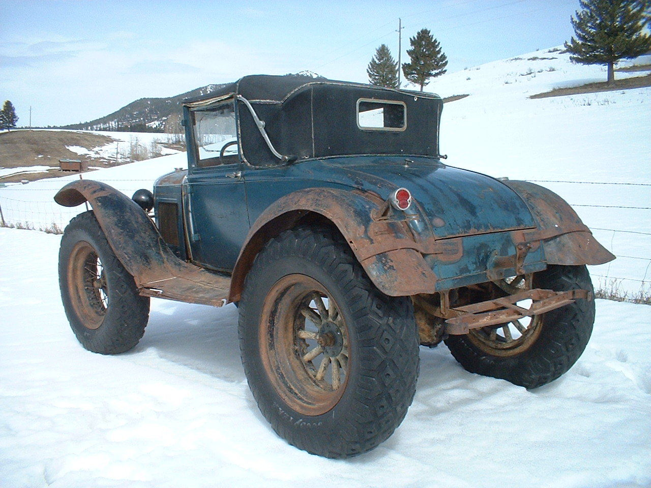 Ford Model A Custom Delivery Car for Sale Can Solve New ...