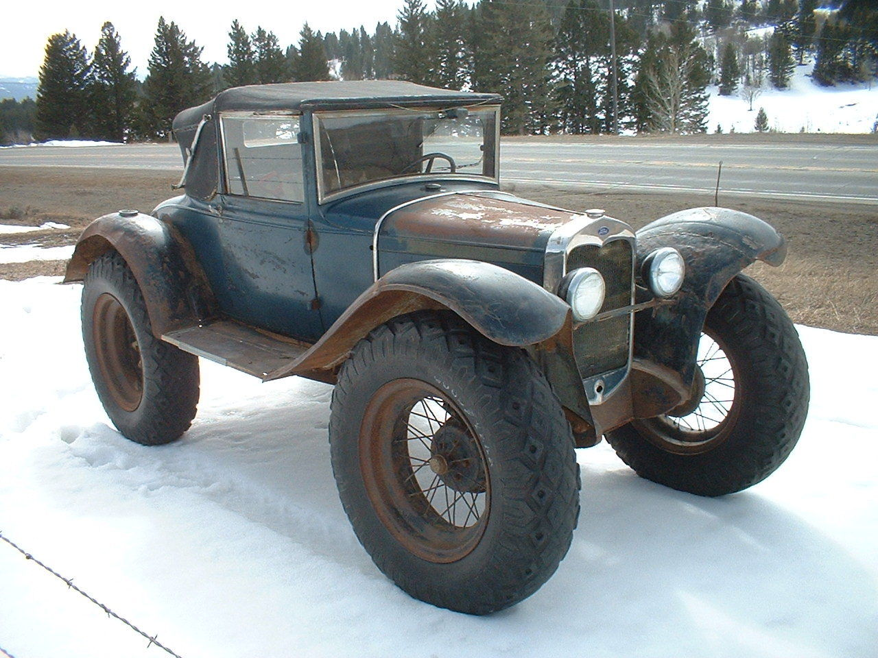... 1930 Ford Model A modified for rural delivery & Ford Model A Custom Delivery Car for Sale Can Solve New York Snow ... markmcfarlin.com