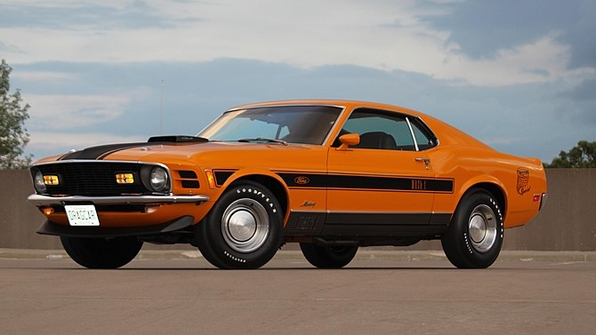 Ford Mustang 428 Super Cobra Jet Mach 1 Twister Special Is