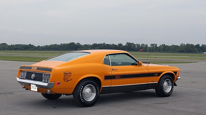 Ford Mustang 428 Super Cobra Jet Mach 1 Twister Special is ...