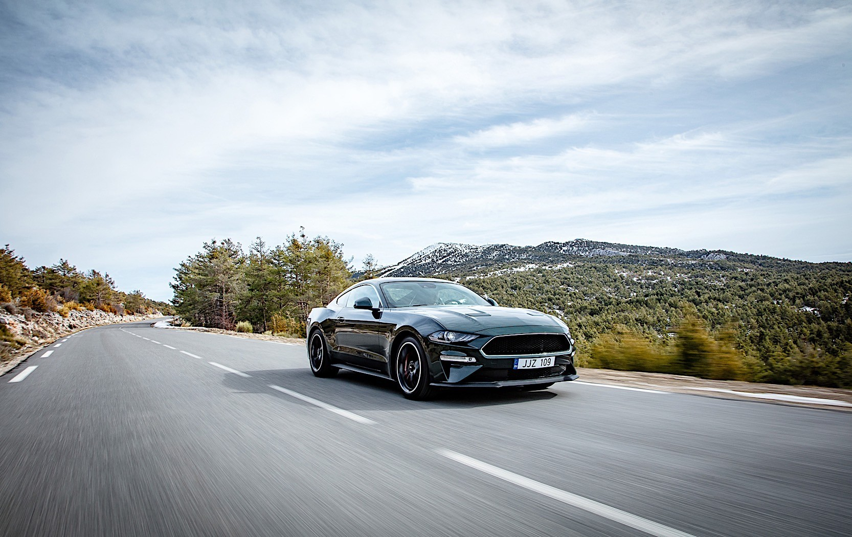 2018 Ford Mustang Bullitt to Show at Brands Hatch American ... Mustang
